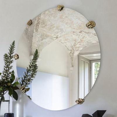 Déco - Miroirs - Miroir Selfie / Rond - Ø 130 cm - Mogg - Rond / Laiton - Laiton massif, Verre