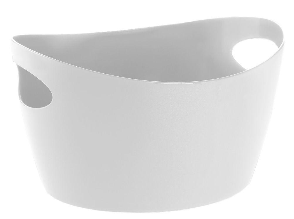 Déco - Salle de bains - Panier Bottichelli L / Bassine - L 49 x H 24 cm - Koziol - Blanc - PMMA