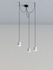 Gio Light Cluster Pendant - / LED - 3 lampshades by Artemide