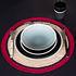 Globe Placemat - / Hand-woven raffia by Maison Sarah Lavoine