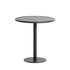 Week-End Round table - / Bistrot - Aluminium - Ø 70 cm by Petite Friture