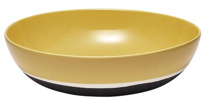 Saladier Sicilia / Ø 33 cm - Maison Sarah Lavoine blanc/jaune/noir en céramique