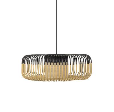 Illuminazione - Lampadari - Sospensione Bamboo XL - / Ø 60 cm di Forestier - Nero - Bambù