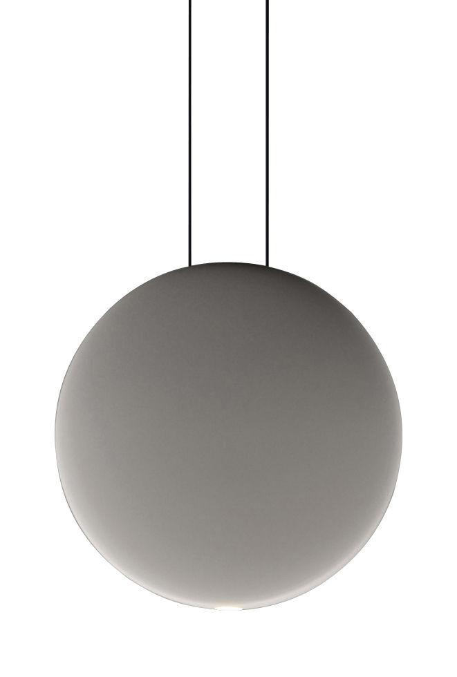 Luminaire - Suspensions - Suspension Cosmos LED / Ø 27 cm - Vibia - Gris - Polycarbonate