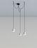 Suspension Gio Light Cluster / LED - 3 abat-jours - Artemide