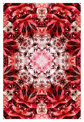 Tapis Crystal Fire / 300 x 200 cm - Moooi Carpets rouge en tissu