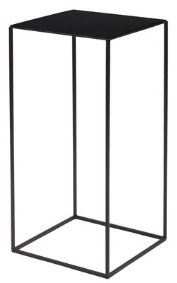 Image of Tavolino basso Slim Irony / 31 x 31 x H 64 cm - Zeus - Nero - Metallo