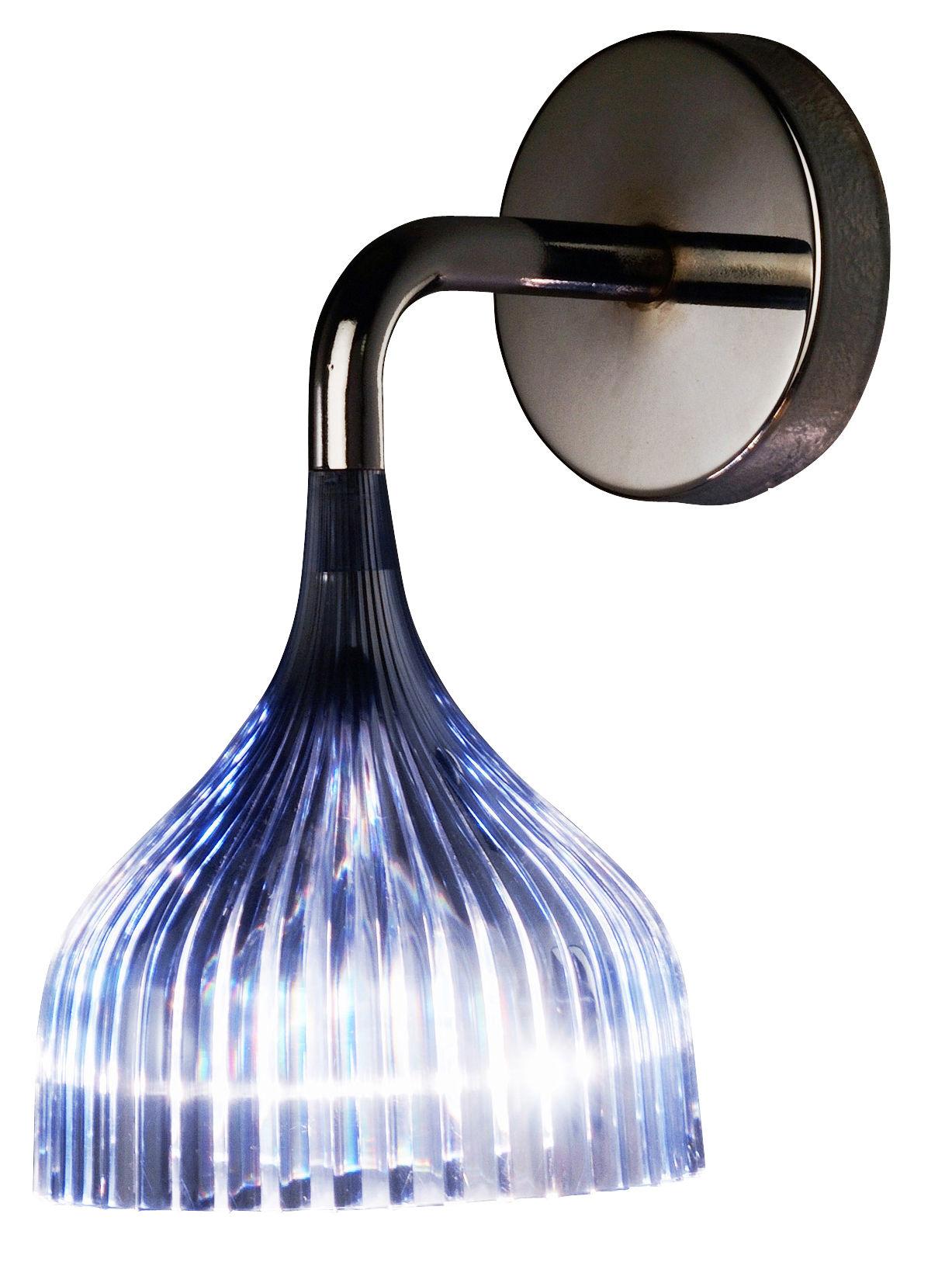 Luminaire - Appliques - Applique E' - Kartell - Bleu ciel - Polycarbonate