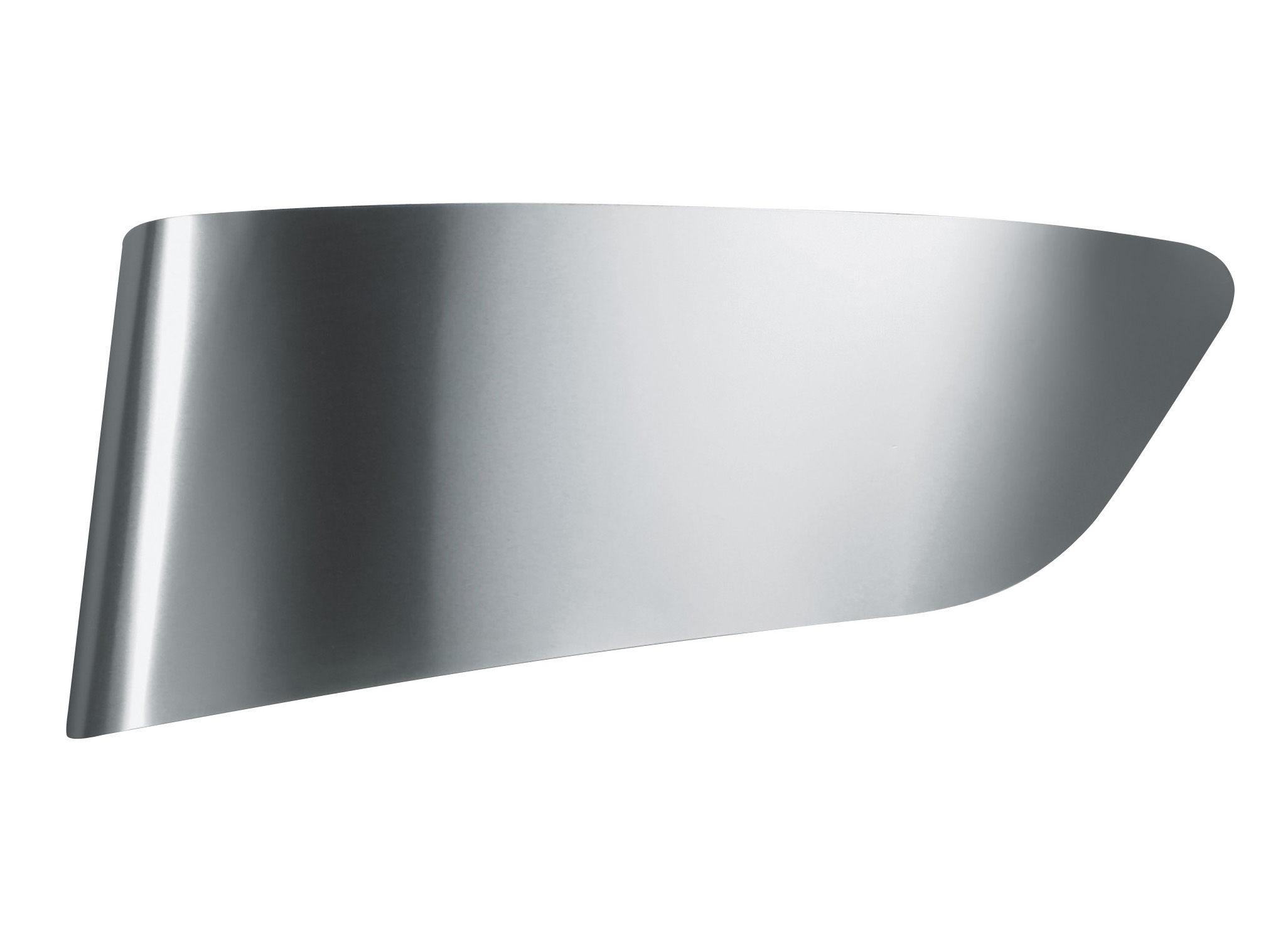 Luminaire - Appliques - Applique Eurialo - Artemide - Aluminium / Intérieur blanc - Aluminium