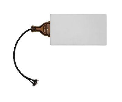 Illuminazione - Lampade da parete - Applique Giuspina LED - / Ceramica di Karman - Bianco / oro & nero - Ceramica