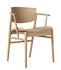 N01 Armchair - / Bois naturel by Fritz Hansen