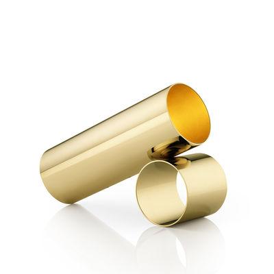 Sawaru LED Bodenleuchte / L 43 cm - Verstellbar - Flos - Gold