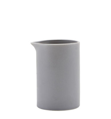 Tavola - Caffè - Bricco per latte Pot - / Porcellana di House Doctor - Grigio - Porcellana