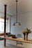 N°305 Double Ceiling light - / Telescopic - L 91 to 155 cm by DCW éditions