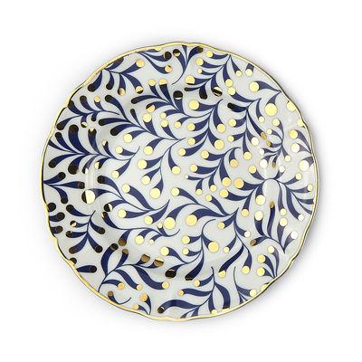 Tableware - Plates - Marino Dessert plate - / Ø 20.5 cm by Bitossi Home - Floral - China