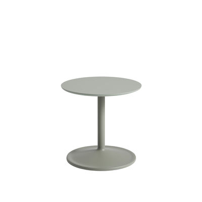 Furniture - Coffee Tables - Soft End table - / Ø 41 x H 40 cm - Laminate by Muuto - Green - MDF, Painted aluminium, Stratified
