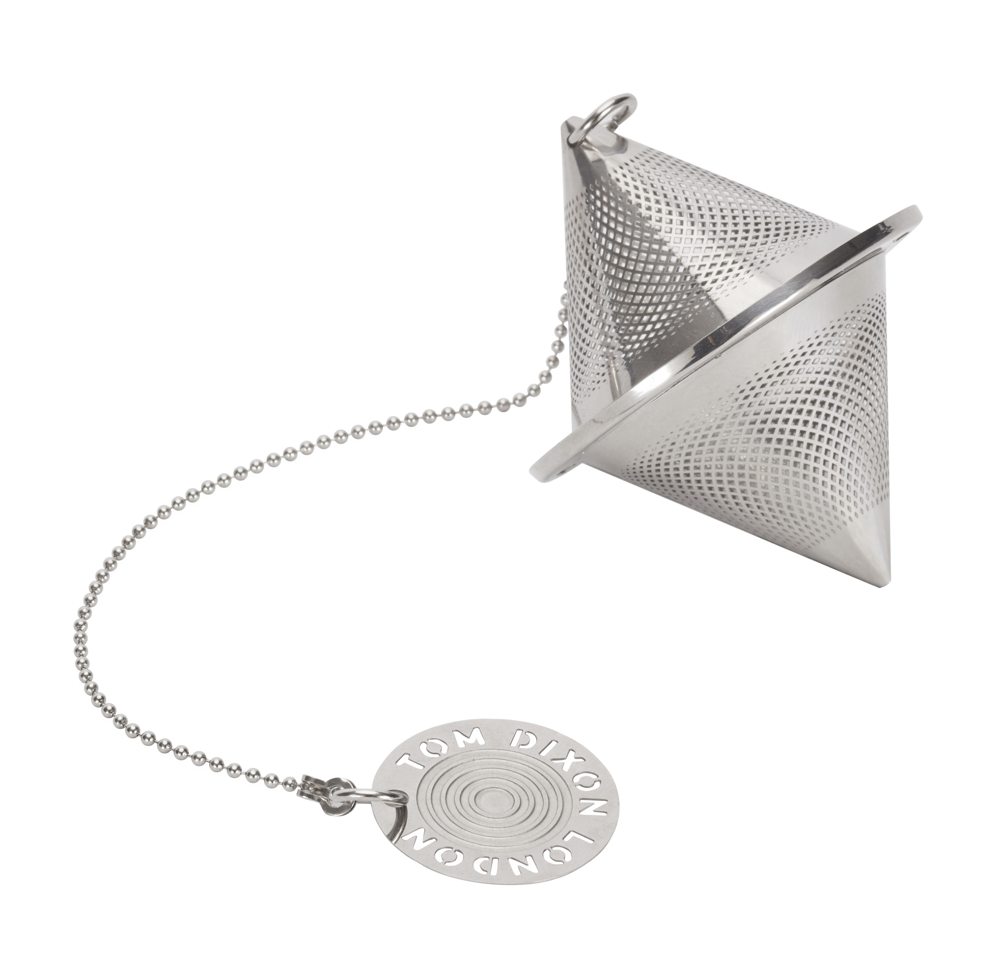 Tableware - Tea & Coffee Accessories - Etch / The clipper Bob Infuser by Tom Dixon - Bob / Steel - Stainless steel
