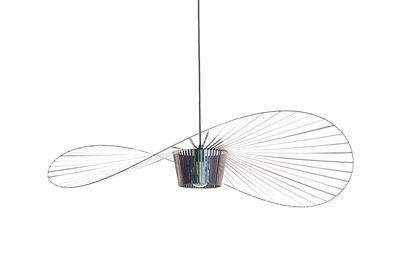 Leuchten - Pendelleuchten - Vertigo Small Pendelleuchte / Ø 140 cm - Petite Friture - Käferschwarz (irisierendes Schwarz) - Glasfaser, Polyurhethan