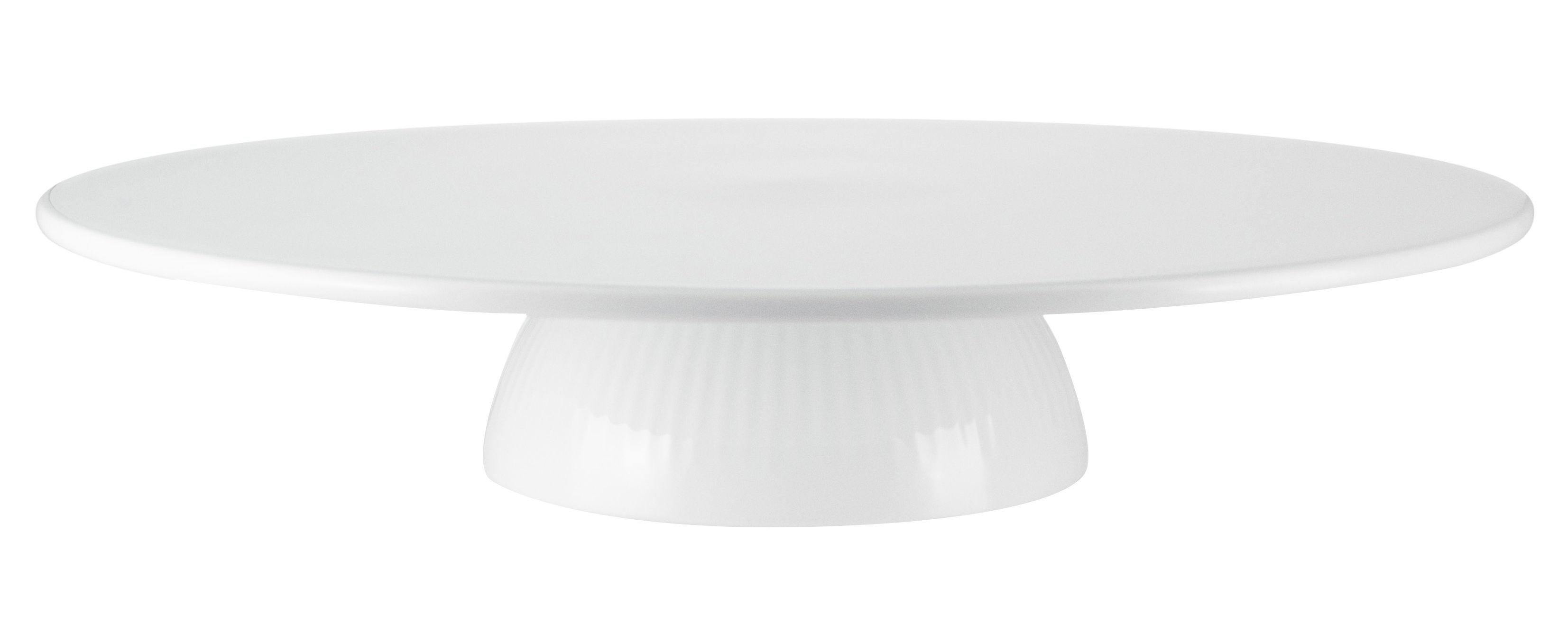 Arts de la table - Plats - Plateau à gâteau Legio Nova / Ø 34 cm - Porcelaine - Eva Trio - Blanc - Porcelaine