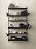 Scaffale String® System - / Metallo traforato, bordo alto - L 58 x P 20 cm di String Furniture