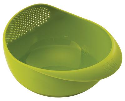 Tischkultur - Salatschüsseln und Schalen - Prep&Serve Schale / mit integriertem Sieb - Joseph Joseph - Grün - Polypropylen