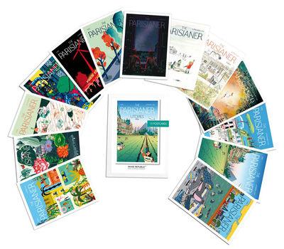 Set Utopies - 2050 / 13 cartes postales - Image Republic multicolore en papier