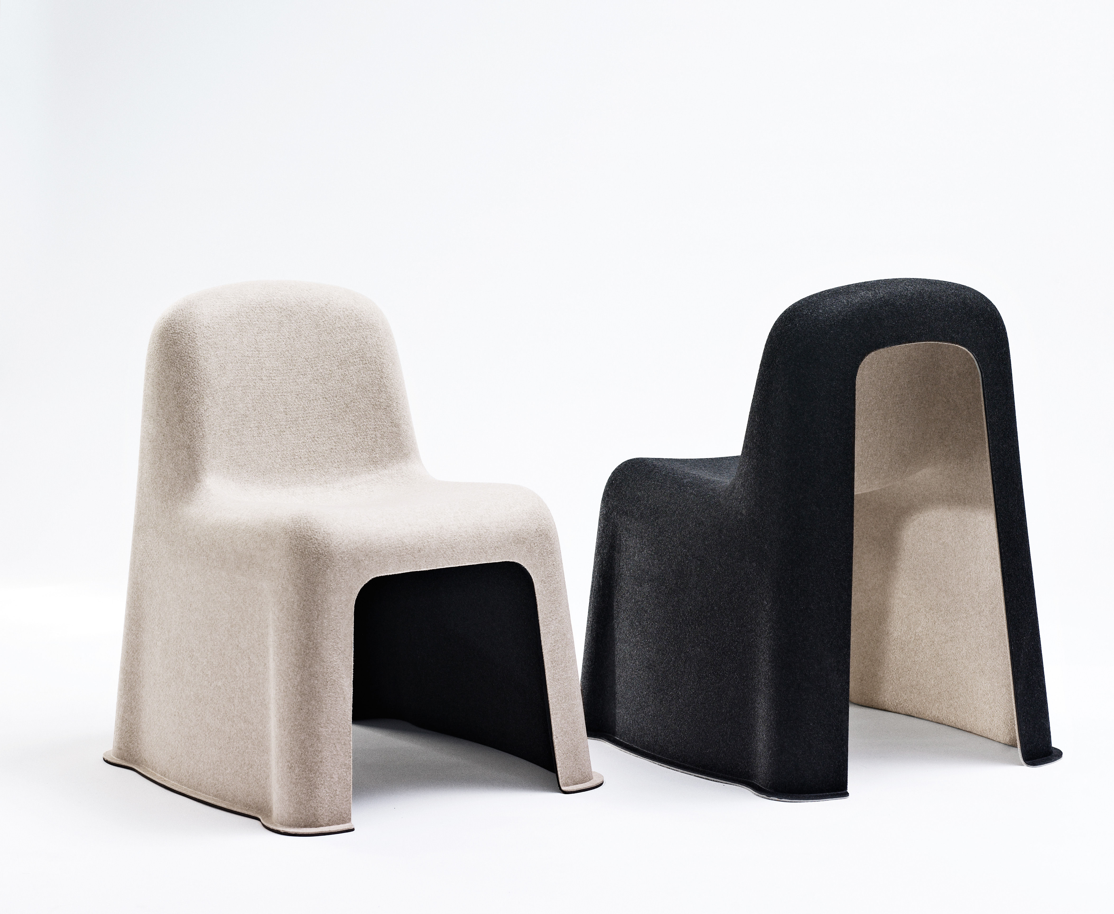 Stacking Chair Nobody By Hay Grey Made In Design Uk