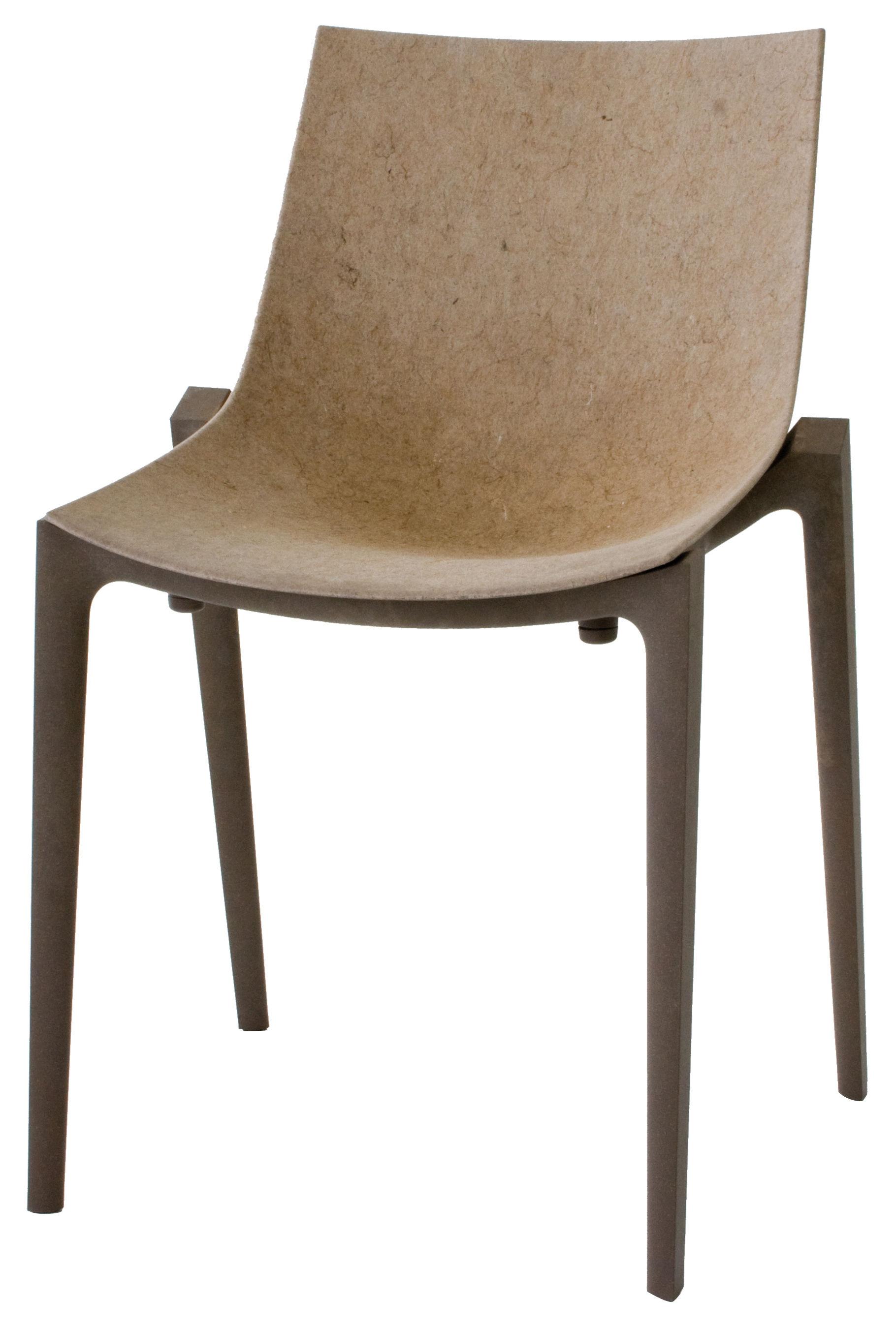 Möbel - Zartan Eco Stapelbarer Stuhl / Version aus Jutefaser - Magis - Jutefaser / beige - Fibre de jute, Polypropylène recyclé