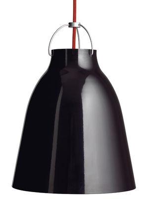 Suspension Caravaggio Large / Ø 40 cm - Fritz Hansen noir en métal