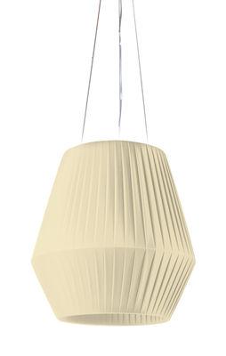 Suspension Ruban Ø 45 cm - Dix Heures Dix beige en tissu