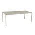 Table rectangulaire Calvi / 195 x 95 cm - Aluminium / 10 à 12 personnes - Plateau démontable - Fermob