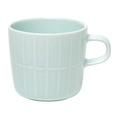 Arts de la table - Tasses et mugs - Tasse à café Tiiliskivi - Marimekko - Tiiliskivi / Menthe - Grès