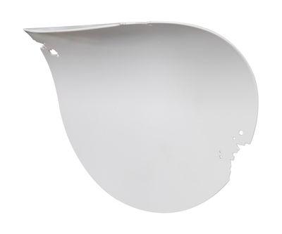 Va-lentina Wandleuchte LED / Blatt aus Metall - Karman - Weiß