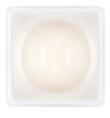 Luminaire - Appliques - Applique Illusion LED / Plafonnier - Luceplan - Transparent / blanc - Aluminium, Polycarbonate
