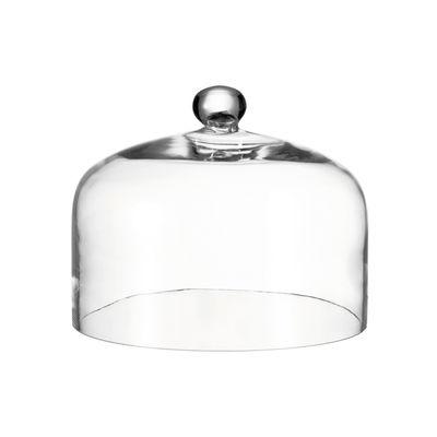 Tavola - Piatti da portata - Campana Cupola - / Vetro - Ø 29,5 cm di Leonardo - Trasparente - Vetro