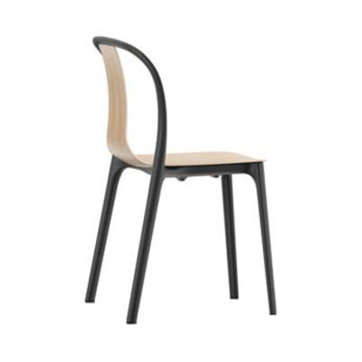 Furniture - Chairs - Belleville Chair - / Wood by Vitra - Natural oak - Molded plywood, Polyamide