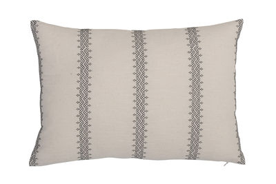 Decoration - Cushions & Poufs - Cushion - / 35 x 50 cm - Cotton by Bloomingville - Black & white - Cotton, Polyester