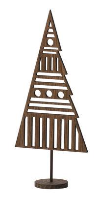 Image of Decorazione di Natale Tree / Albero di Natale in quercia - H 26 cm - Ferm Living - Quercia affumicata - Legno