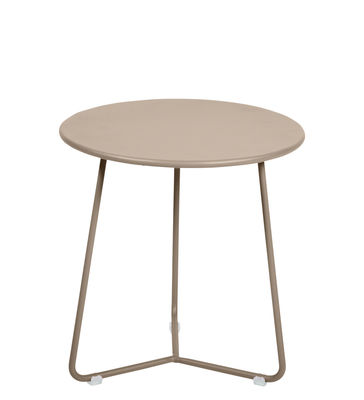Furniture - Coffee Tables - Cocotte End table - / Stool - Ø 34 x H 36 cm by Fermob - Nutmeg - Painted steel
