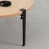 Fuß aus Stahl mit Klammersystem / H 43 cm - Um Couchtische & Bänke zu gestalten - TipToe