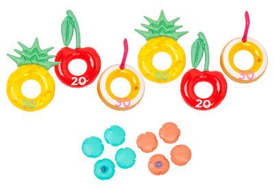 Jeu d'adresse Piña Colada / Gonflable & flottant - Sunnylife multicolore en matière plastique
