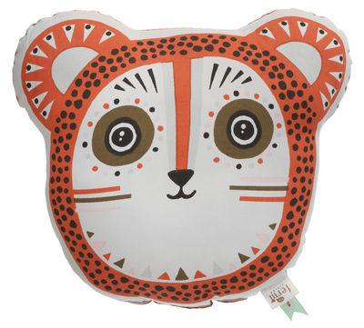 Dekoration - Kissen - Billy Bear Kissen / 36 x 32 cm - Ferm Living - Orange - Baumwolle