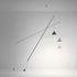 Lampada a stelo North - / Sospesa & orientabile - LED di Vibia