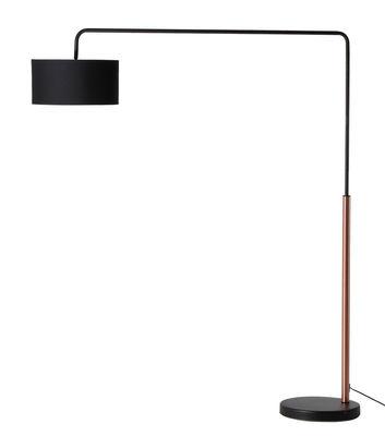 Lampadaire Shower Mega / H 170 cm - Frandsen cuivre,noir en métal