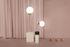 Lampe à poser Squared Avalon / Céramique - H 145 cm - Houtique