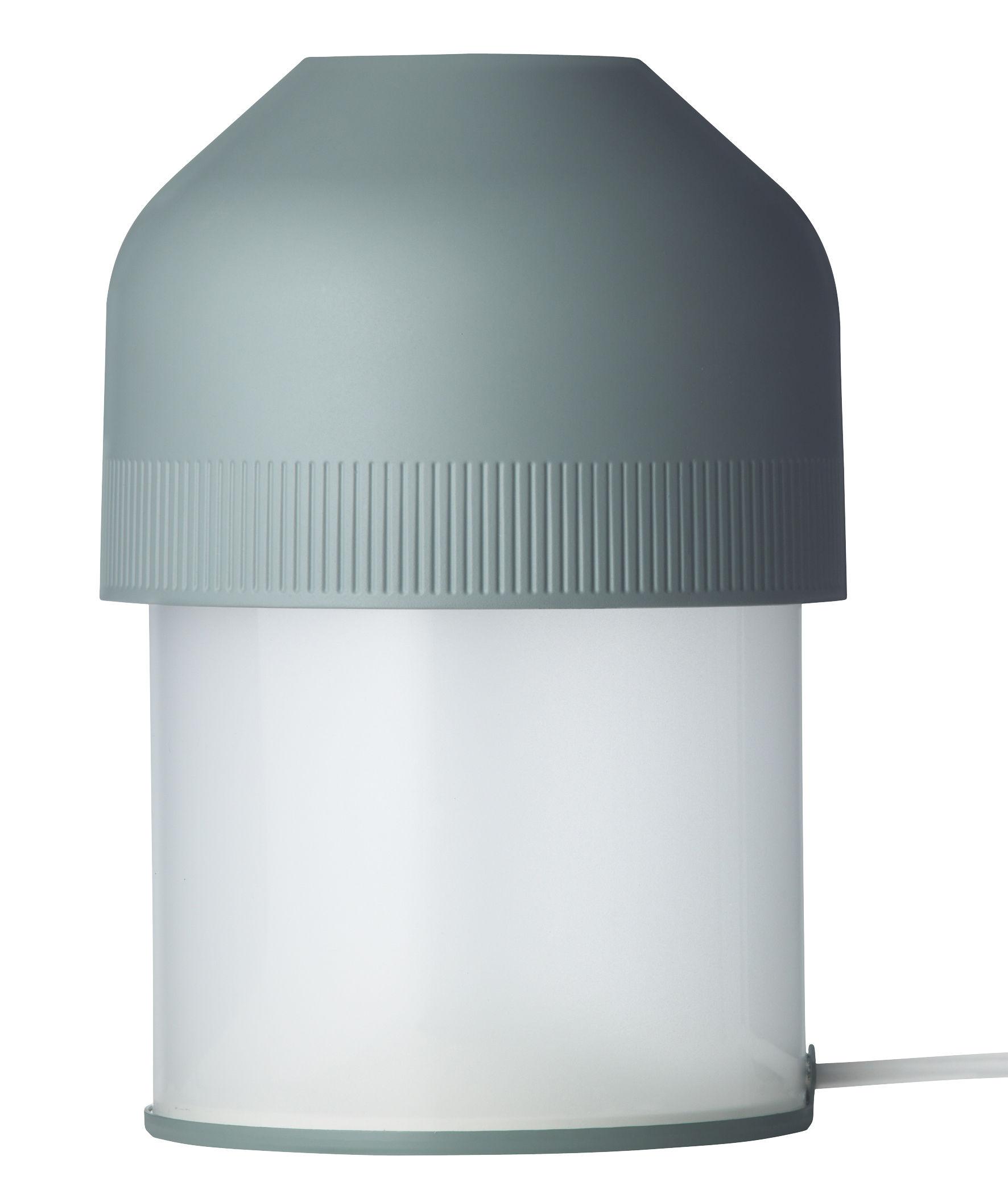 Luminaire - Lampes de table - Lampe de table Volume LED - Lightyears - Vert - Acrylique, Fonte d'aluminium