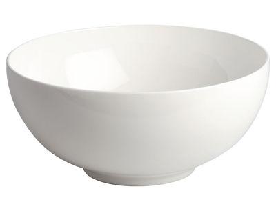 Saladier All-time / Ø 24,5 cm - A di Alessi blanc en céramique