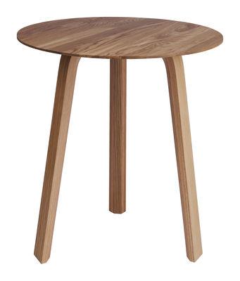 Table basse Bella / Ø 45 x H 49 cm - Hay bois naturel en bois