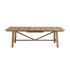 Tavolo con prolunga Synthesis - / L 230 a 300 cm - Teck di Unopiu