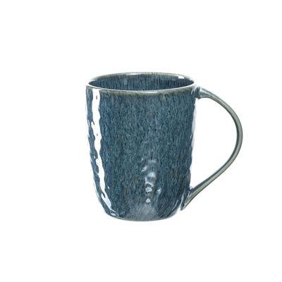 Tavola - Tazze e Boccali - Tazza Matera - / Gres - 430 ml di Leonardo - Blu - Gres smaltato